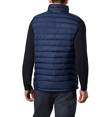 Veste sans Manches Powder Lite Homme Powder Lite™ Vest | 664 | S, Collegiate Navy, back