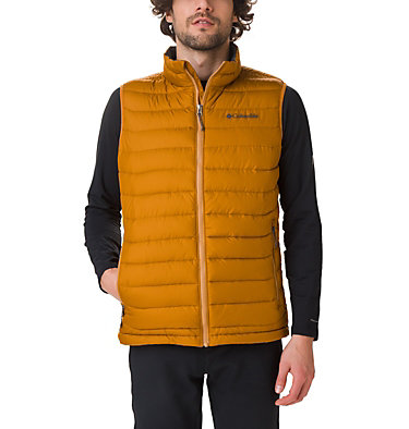 Veste sans Manches Powder Lite Homme Powder Lite™ Vest | 664 | S, Burnished Amber, front