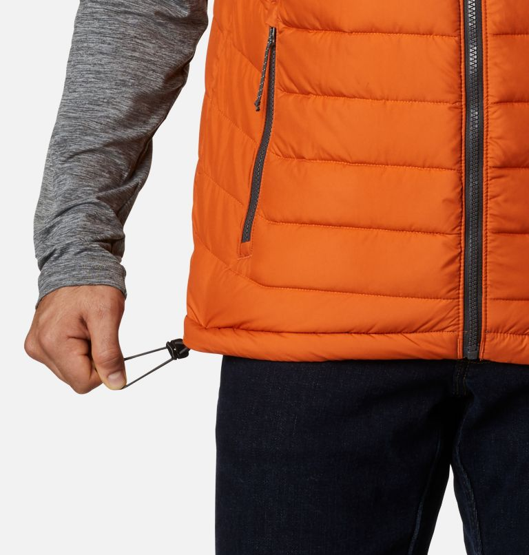 Powder Lite™ Vest | 820 | XL Men's Powder Lite™ Vest, Harvester, a4