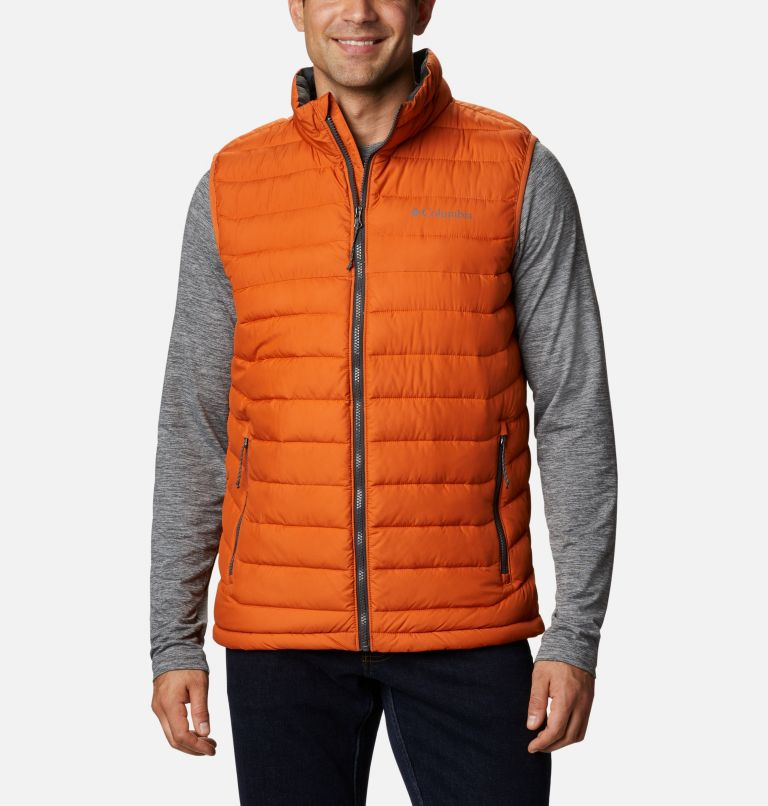 Powder Lite™ Vest | 820 | XL Men's Powder Lite™ Vest, Harvester, front