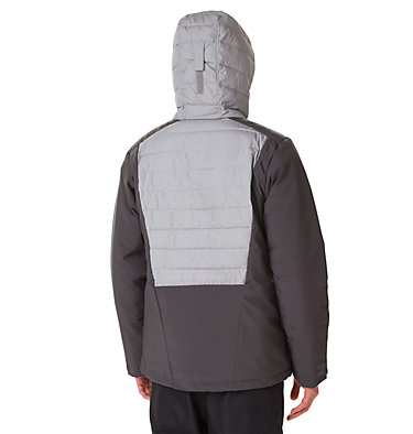 White Horizon Hybrid™ Skijacke für Herren White Horizon Hybrid™ Jacket   011   L, Shark, Columbia Grey Heather, back