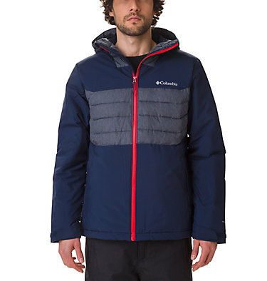 Men's White Horizon Hybrid™ Jacket , front