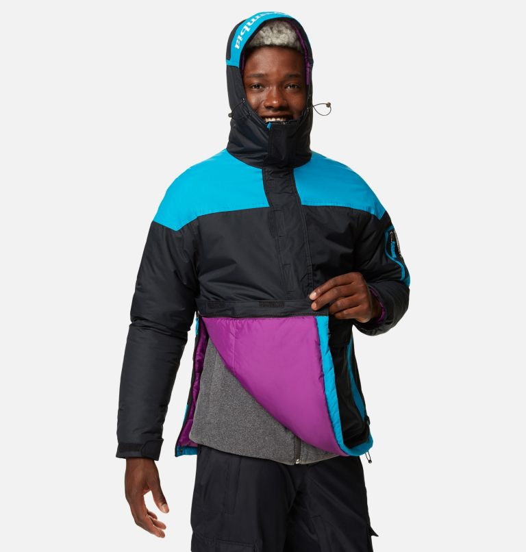 Challenger™ Pullover | 018 | XXL Men's Challenger™ Insulated Anorak, Black, Fjord Blue, a3