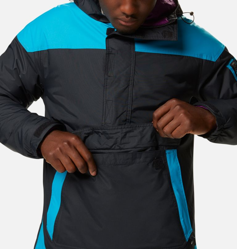 Challenger™ Pullover | 018 | XXL Men's Challenger™ Insulated Anorak, Black, Fjord Blue, a5