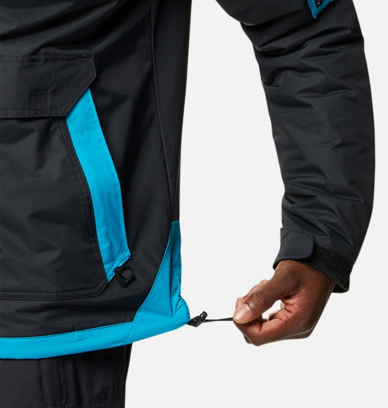Challenger™ Pullover | 018 | XXL Men's Challenger™ Insulated Anorak, Black, Fjord Blue, a6