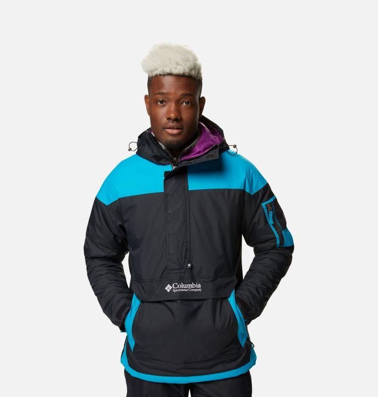 Challenger™ Pullover | 018 | XXL Men's Challenger™ Insulated Anorak, Black, Fjord Blue, front