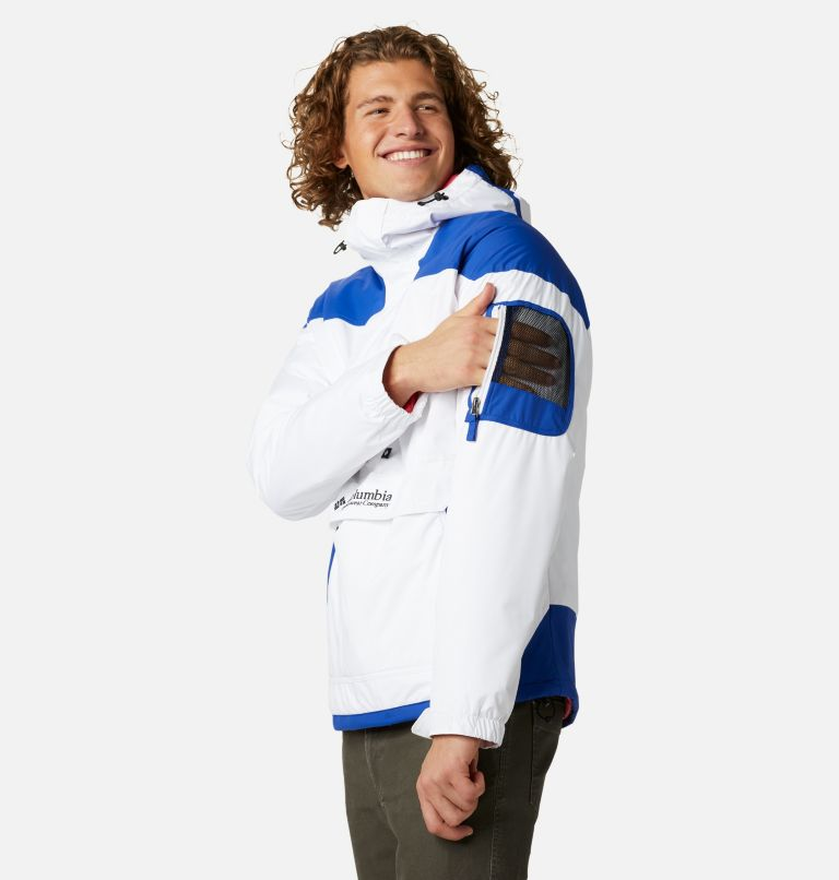 Challenger™ Pullover | 101 | XXL Men's Challenger™ Insulated Anorak, White, Lapis Blue, a1