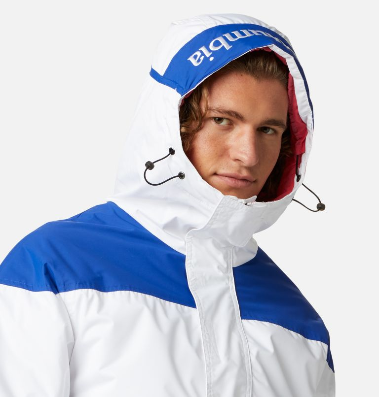 Challenger™ Pullover | 101 | XXL Men's Challenger™ Insulated Anorak, White, Lapis Blue, a2