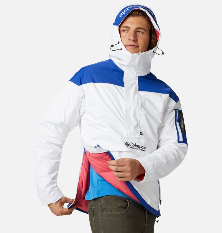 Challenger™ Pullover | 101 | XXL Men's Challenger™ Insulated Anorak, White, Lapis Blue, a3