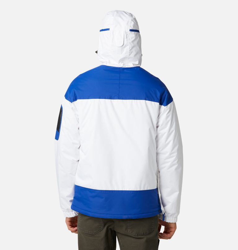 Challenger™ Pullover | 101 | XXL Men's Challenger™ Insulated Anorak, White, Lapis Blue, back
