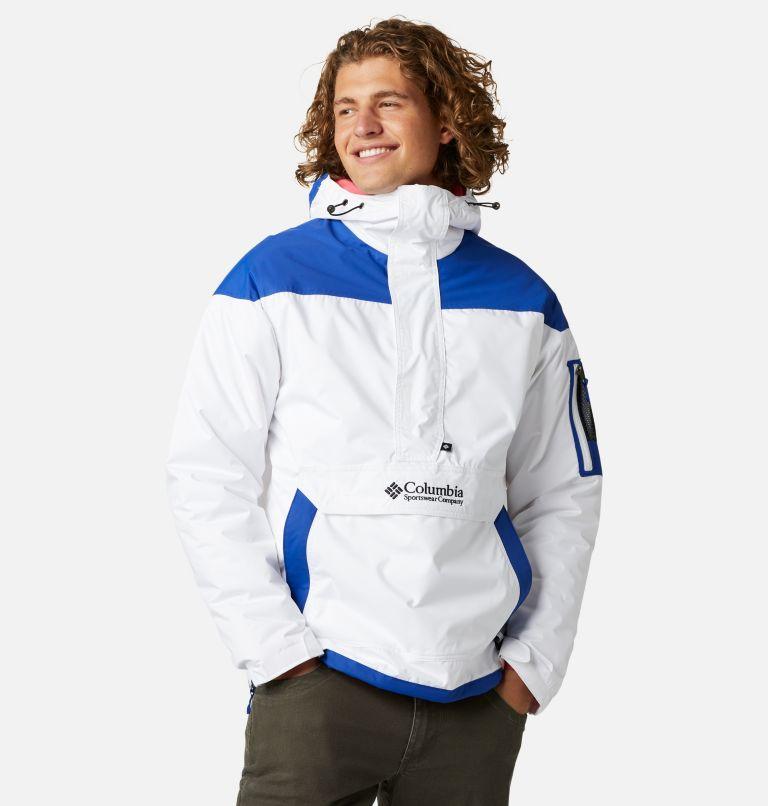 Challenger™ Pullover | 101 | XXL Men's Challenger™ Insulated Anorak, White, Lapis Blue, front