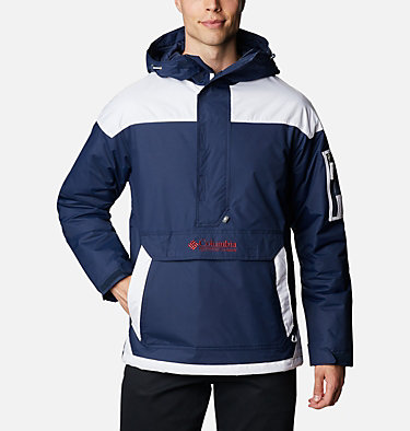 Men's Challenger Pullover Jacket Challenger™ Pullover | 018 | XS, Collegiate Navy, White, front