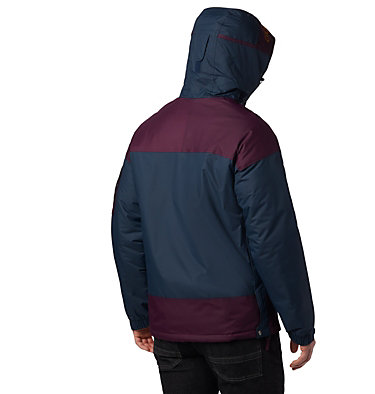 Veste demi-zip Challenger Homme Challenger™ Pullover | 018 | XS, Night Shadow, Black Cherry, back