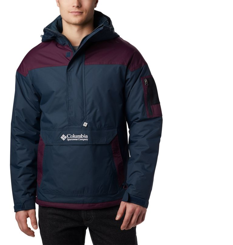 Challenger™ Pullover | 494 | S Jersey Challenger para hombre, Night Shadow, Black Cherry, front