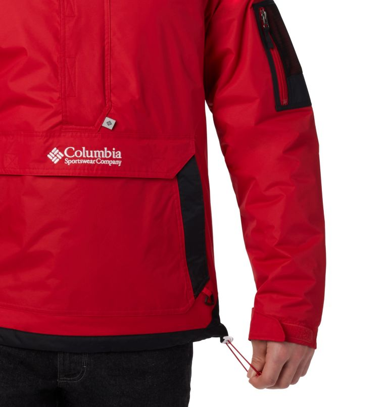 Challenger™ Pullover | 613 | XXL Men's Challenger Pullover Jacket, Mountain Red, Black, a1