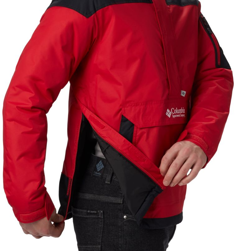 Challenger™ Pullover | 613 | XXL Men's Challenger Pullover Jacket, Mountain Red, Black, a3