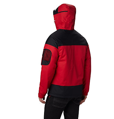 Men's Challenger Pullover Jacket Challenger™ Pullover | 018 | XS, Mountain Red, Black, back