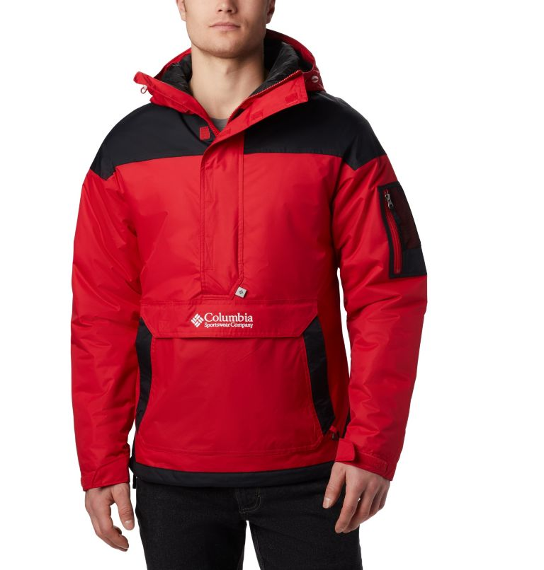 Challenger™ Pullover | 613 | XXL Men's Challenger Pullover Jacket, Mountain Red, Black, front