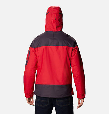 Veste demi-zip Challenger Homme Challenger™ Pullover | 018 | XS, Mountain Red, Dark Purple, back