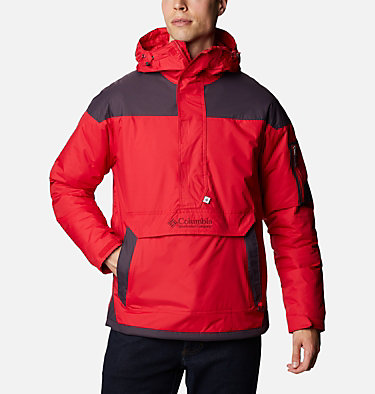 Veste demi-zip Challenger Homme Challenger™ Pullover | 018 | XS, Mountain Red, Dark Purple, front