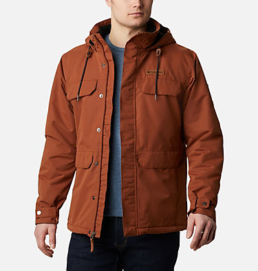 Men's South Canyon™ Mid Length Jacket South Canyon™ Lined Jacket | 010 | XL, Dark Amber, front
