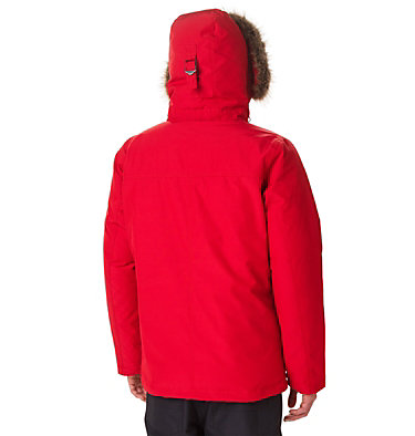 Giacca Marquam Peak™ da uomo Marquam Peak™ Jacket | 010 | XL, Mountain Red, back