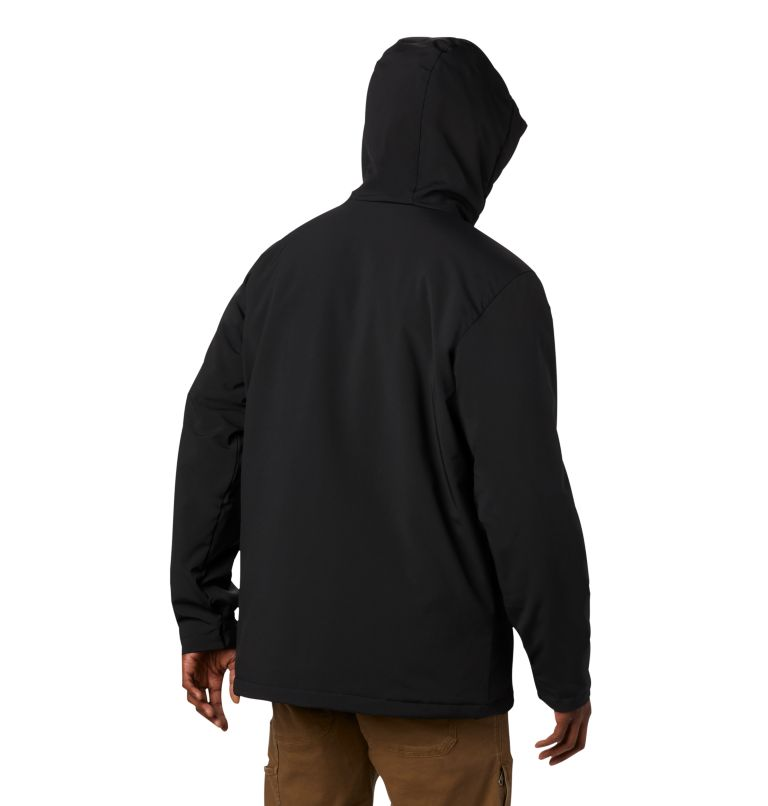 Gate Racer™ Softshell | 014 | XL Men's Gate Racer™ Softshell, Black, back