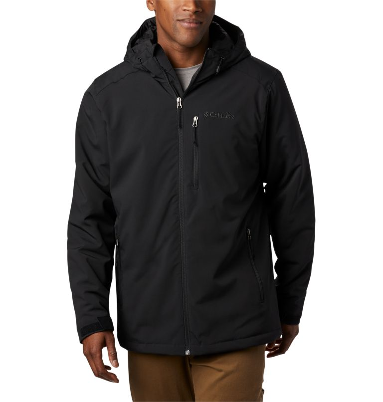 Gate Racer™ Softshell | 014 | XL Men's Gate Racer™ Softshell, Black, front