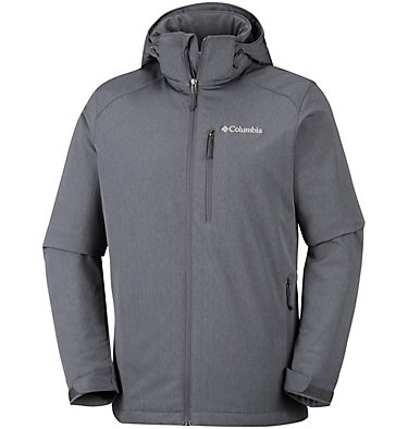 Softshell Gate Racer™ da uomo Gate Racer™ Softshell | 054 | S, Graphite Heather, Black, front