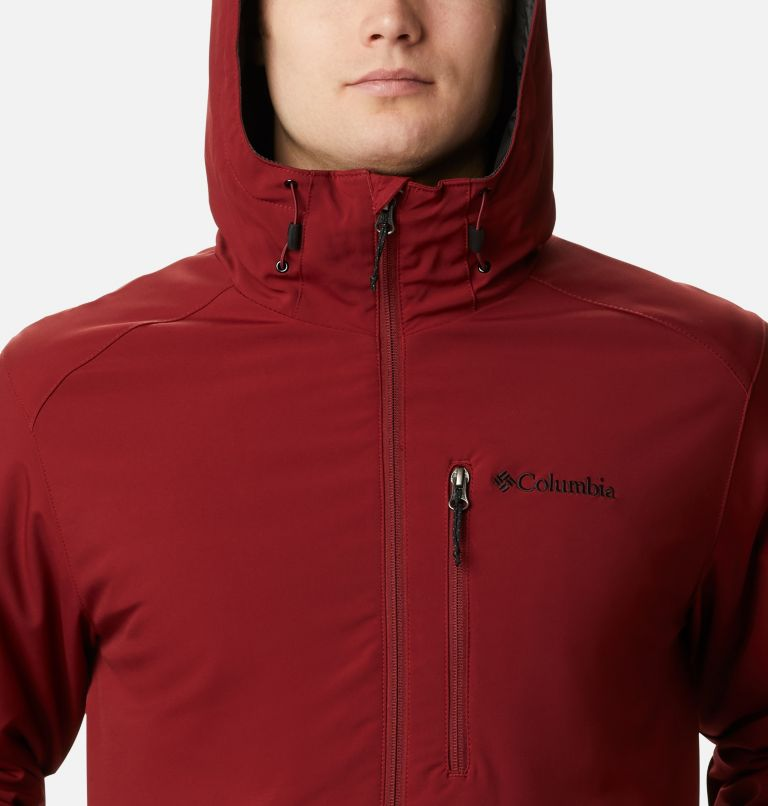 Gate Racer™ Softshell | 664 | XXL Men's Gate Racer™ Softshell, Red Jasper, a2
