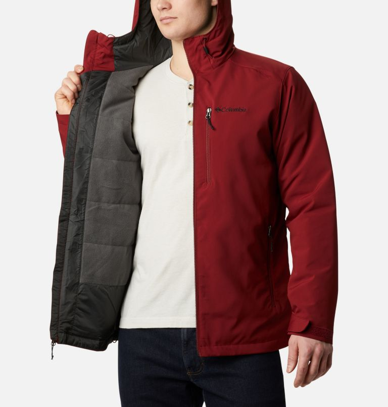 Gate Racer™ Softshell | 664 | XXL Men's Gate Racer™ Softshell, Red Jasper, a3