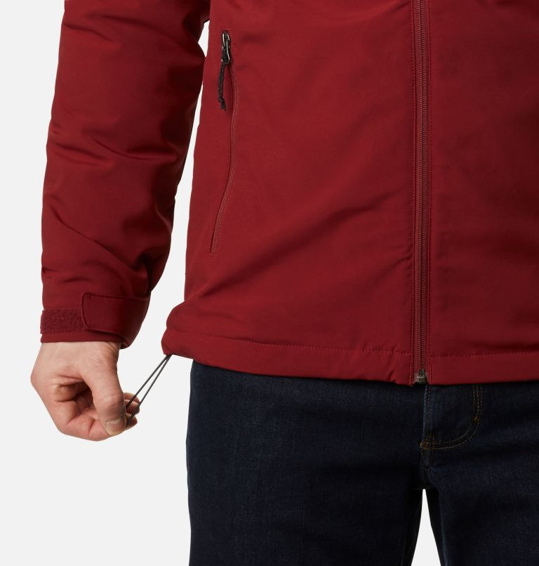 Gate Racer™ Softshell | 664 | XXL Men's Gate Racer™ Softshell, Red Jasper, a4
