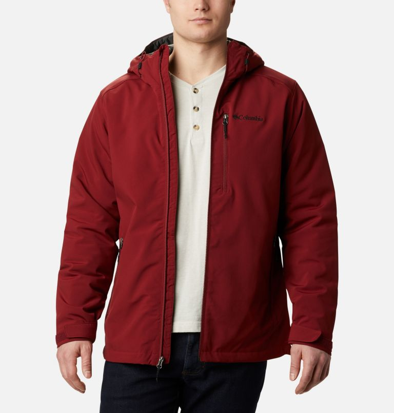 Gate Racer™ Softshell | 664 | XXL Men's Gate Racer™ Softshell, Red Jasper, front