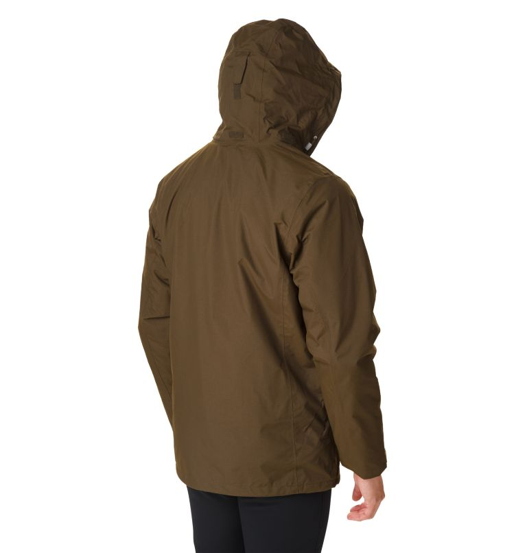 Mission Air™ Interchange Jacke | 319 | XL Men's Mission Air™ Interchange Jacket, Olive Green, back