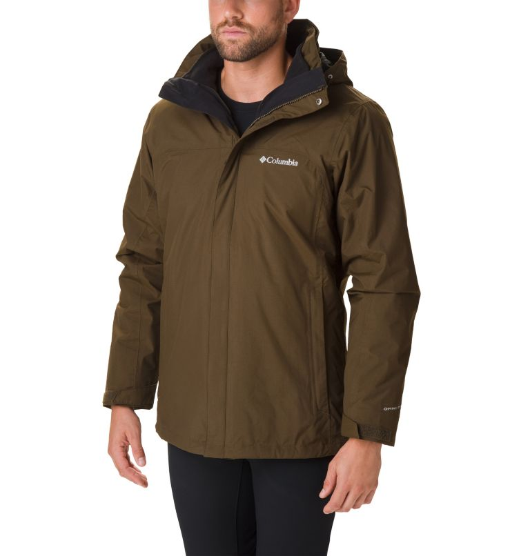 Mission Air™ Interchange Jacke | 319 | XL Men's Mission Air™ Interchange Jacket, Olive Green, front