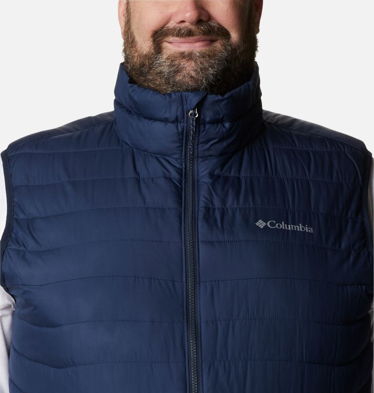 Powder Lite™ Vest | 465 | 5X Men's Powder Lite™ Vest - Plus Size, Collegiate Navy, a2