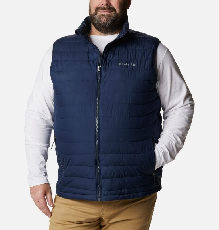 Powder Lite™ Vest | 465 | 5X Men's Powder Lite™ Vest - Plus Size, Collegiate Navy, front