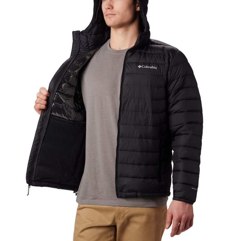 Men's Powder Lite™ Hooded Jacket - Plus Size Men's Powder Lite™ Hooded Jacket - Plus Size, a1
