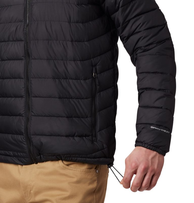 Men's Powder Lite™ Hooded Jacket - Plus Size Men's Powder Lite™ Hooded Jacket - Plus Size, a2