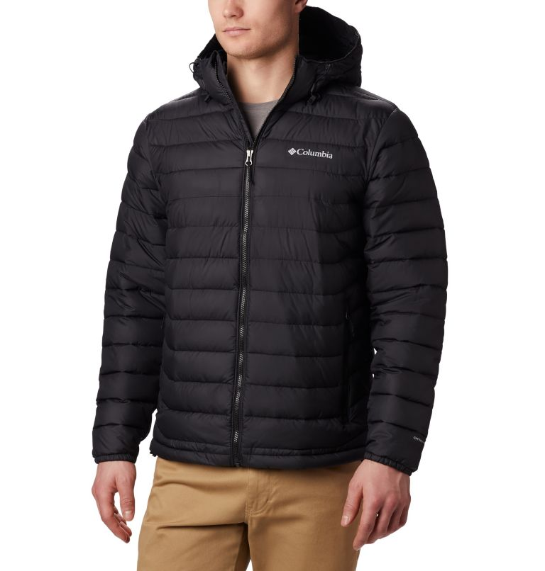 Men's Powder Lite™ Hooded Jacket - Plus Size Men's Powder Lite™ Hooded Jacket - Plus Size, front