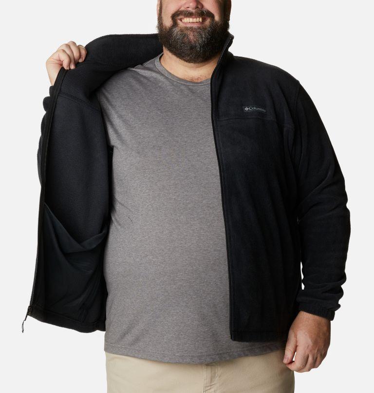 Steens Mountain™ Full Zip 2.0 | 010 | 6X Men's Steens Mountain™ 2.0 Full Zip Fleece Jacket — Big, Black, a3