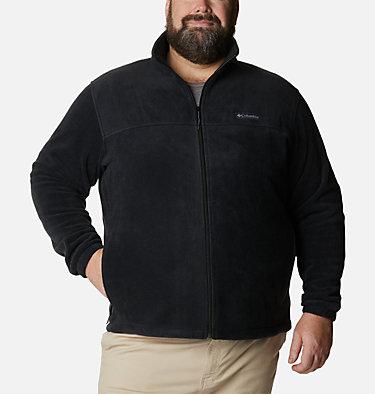 Men's Steens Mountain™ 2.0 Full Zip Fleece Jacket — Big Steens Mountain™ Full Zip 2.0 | 020 | 2X, Black, front