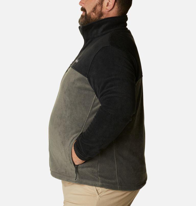 Steens Mountain™ Full Zip 2.0 | 011 | 4X Men's Steens Mountain™ 2.0 Full Zip Fleece Jacket — Big, Black, Grill, a1
