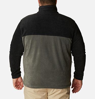 Men's Steens Mountain™ 2.0 Full Zip Fleece Jacket — Big Steens Mountain™ Full Zip 2.0 | 024 | 1X, Black, Grill, back