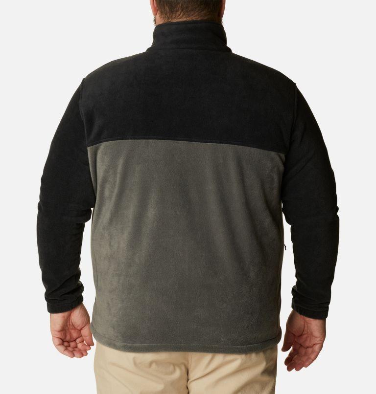 Steens Mountain™ Full Zip 2.0 | 011 | 4X Men's Steens Mountain™ 2.0 Full Zip Fleece Jacket — Big, Black, Grill, back