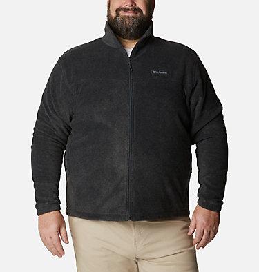 Men's Steens Mountain™ 2.0 Full Zip Fleece Jacket — Big Steens Mountain™ Full Zip 2.0 | 020 | 2X, Charcoal Heather, front