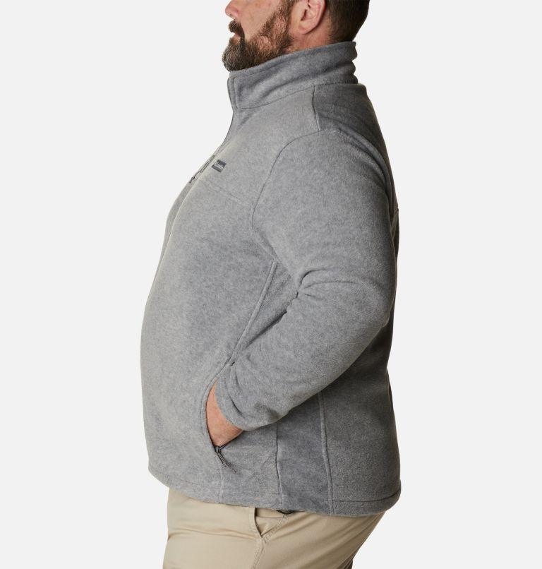 Steens Mountain™ Full Zip 2.0 | 060 | 2X Men's Steens Mountain™ 2.0 Full Zip Fleece Jacket — Big, Light Grey Heather, a1
