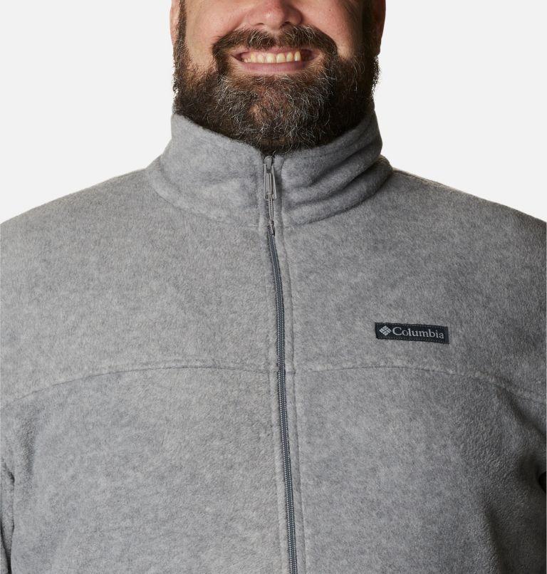 Steens Mountain™ Full Zip 2.0 | 060 | 2X Men's Steens Mountain™ 2.0 Full Zip Fleece Jacket — Big, Light Grey Heather, a2