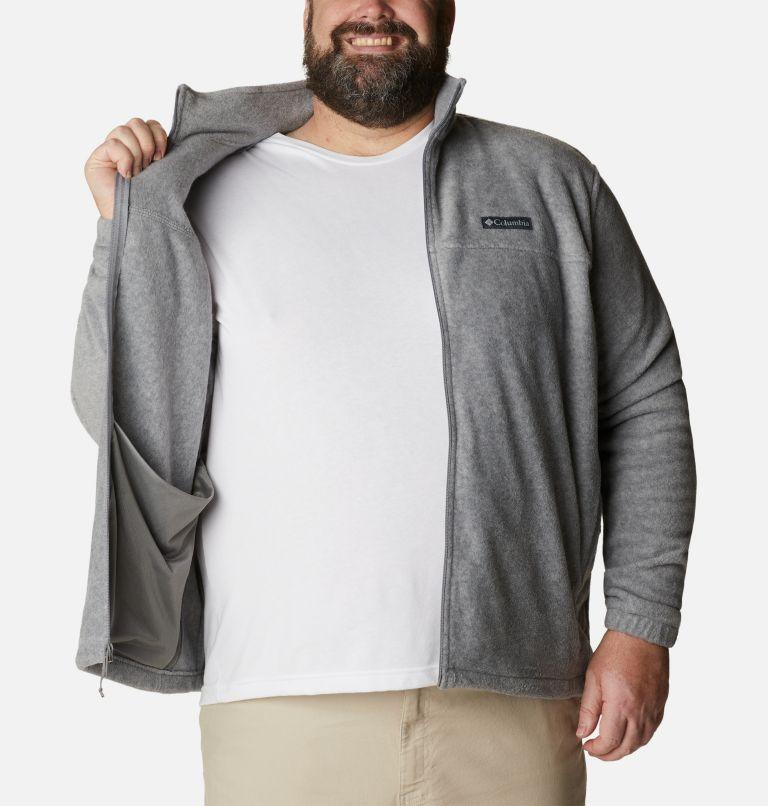 Steens Mountain™ Full Zip 2.0 | 060 | 2X Men's Steens Mountain™ 2.0 Full Zip Fleece Jacket — Big, Light Grey Heather, a3