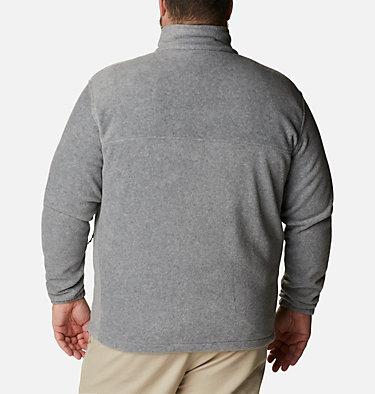 Men's Steens Mountain™ 2.0 Full Zip Fleece Jacket — Big Steens Mountain™ Full Zip 2.0 | 024 | 1X, Light Grey Heather, back